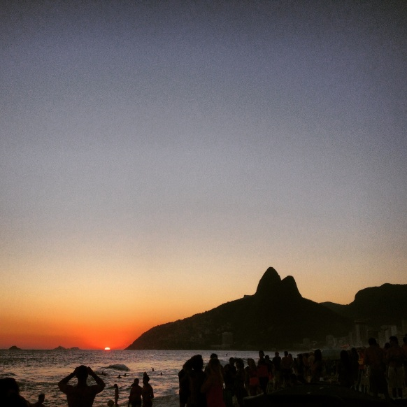Ipanema por do sol