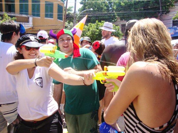 Carnaval arma de água